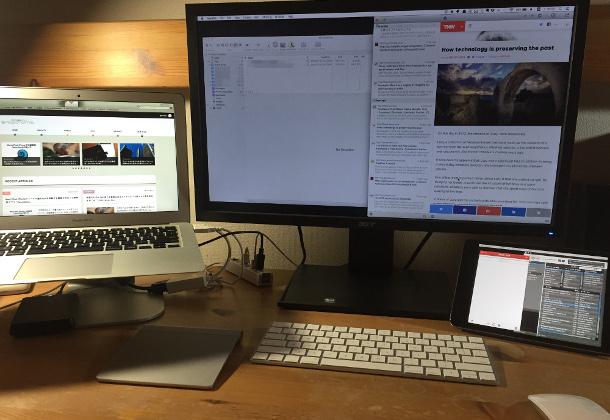 iPadを使ってデュアルスクリーンを実現するアプリ「Duet Display」が超便利