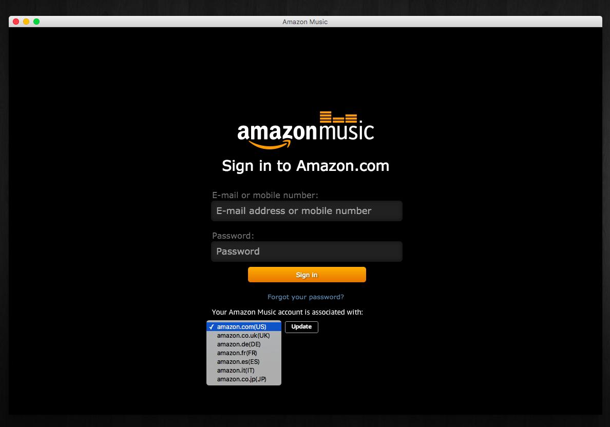 Amazon music usa