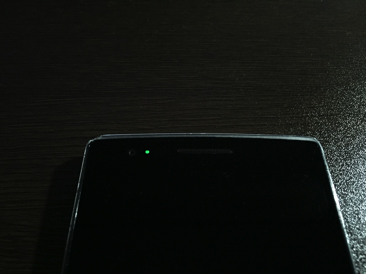 Android notification light