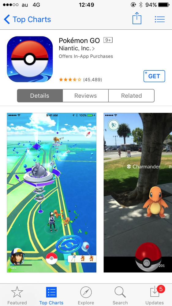 Pokemon GO 001