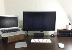 ニトリ「リッケン」を使いデュアルモニターの超快適PCデスクを作る