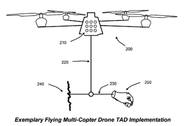 Patent drone microsoft 001