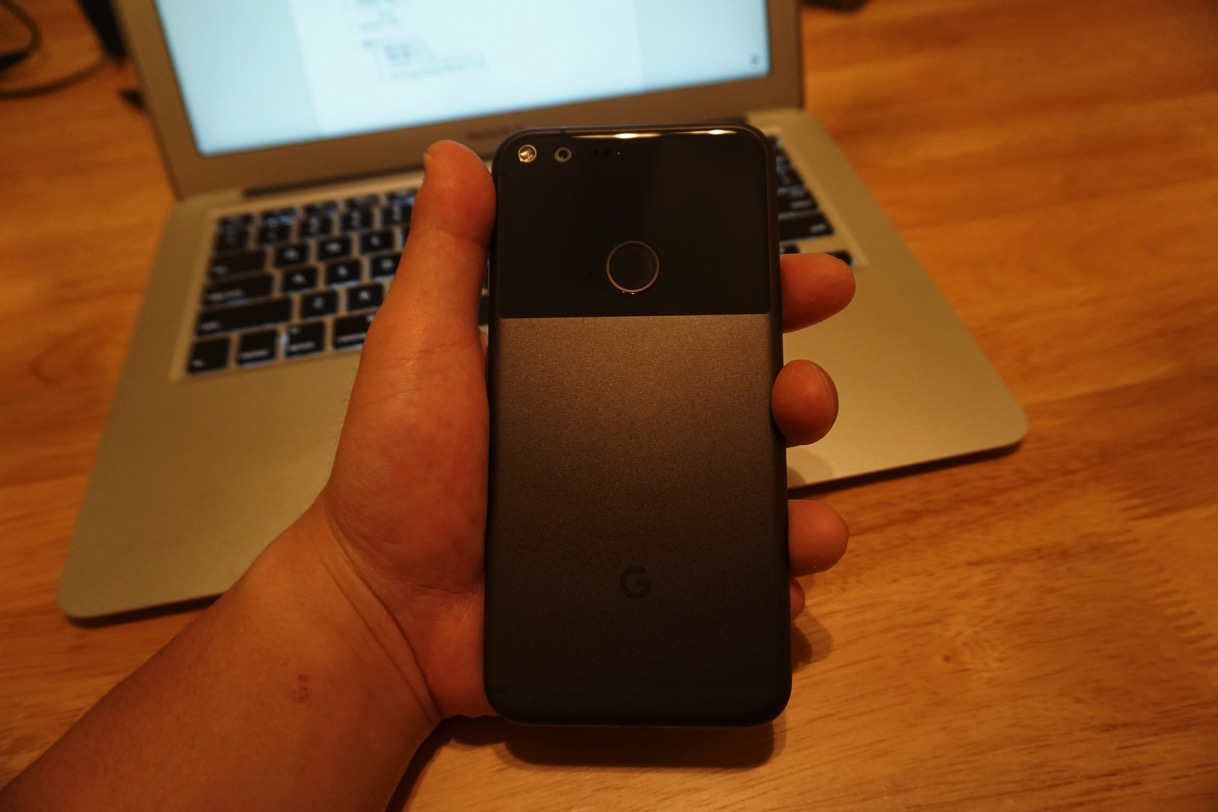 Pixel hands on